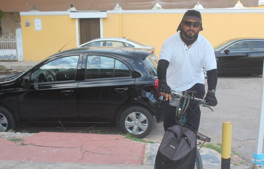 Camiones, el principal riesgo para ciclistas en Mérida