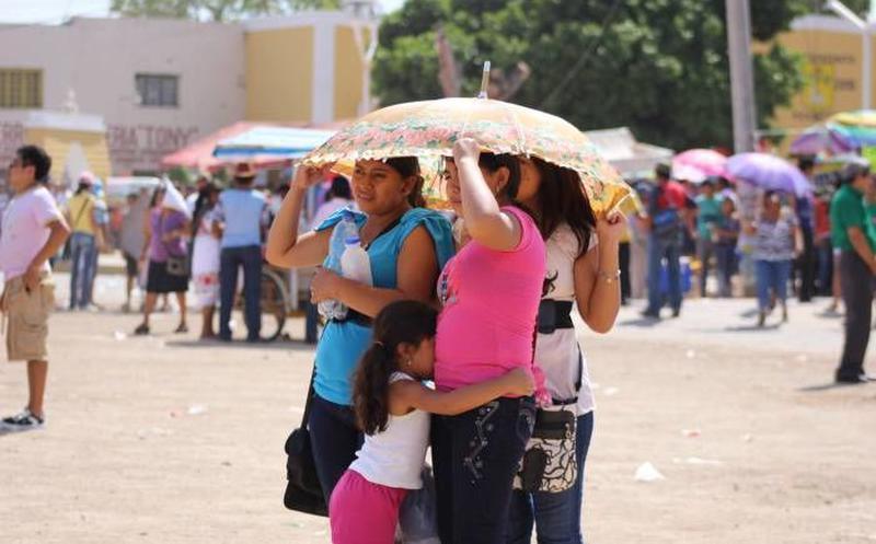 Juan Pablo II y Vergel, dos grandes islas de calor en Mérida