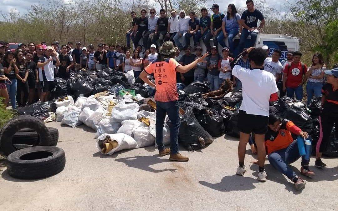 Chatarreros hacen de la Reserva Ecológica Cuxtal su basurero