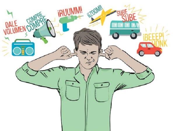 El ruido NO es un problema grande a nivel estatal