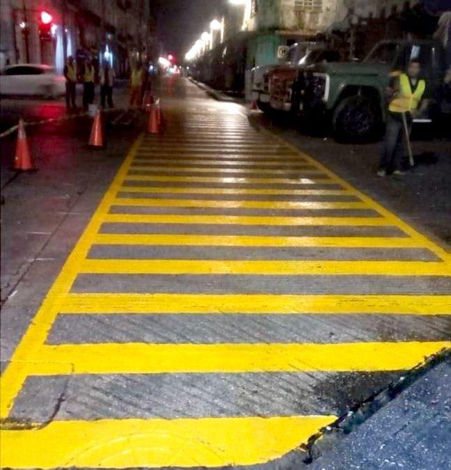 Medidas permanentes para ayudar a los peatones de Mérida