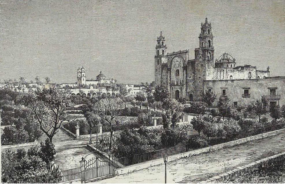 El crecimiento urbano del Centro de Mérida en el siglo XIX