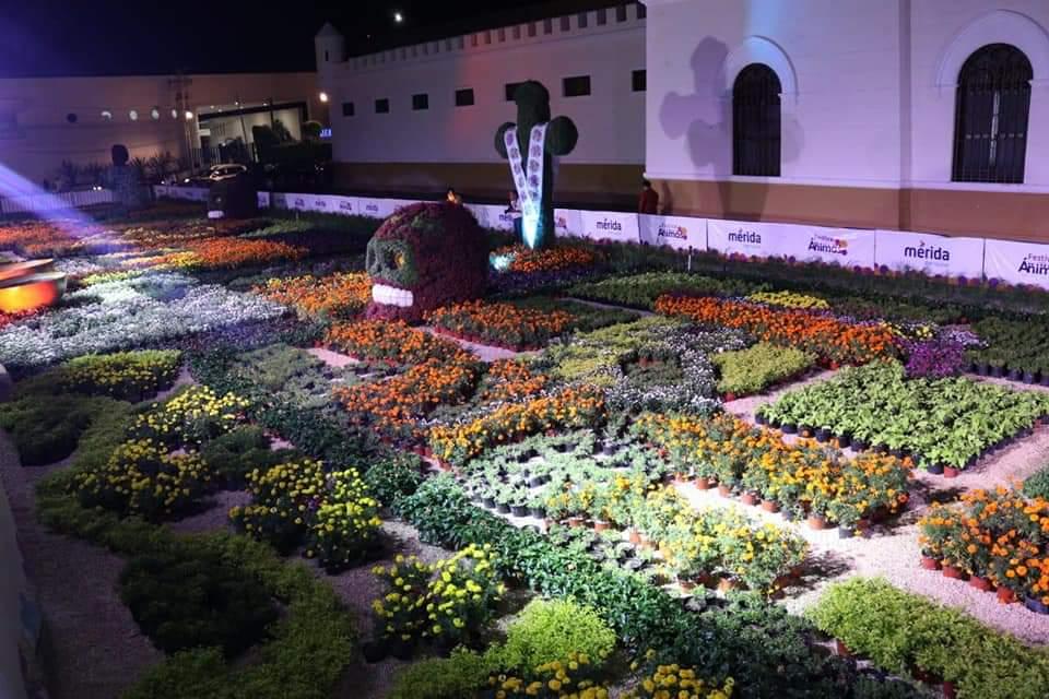El Parque de la Paz, relegado de las decoraciones navideñas