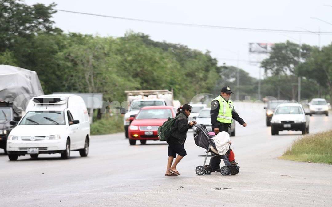 Accidentes en el Periférico de Mérida por falta de mantenimiento