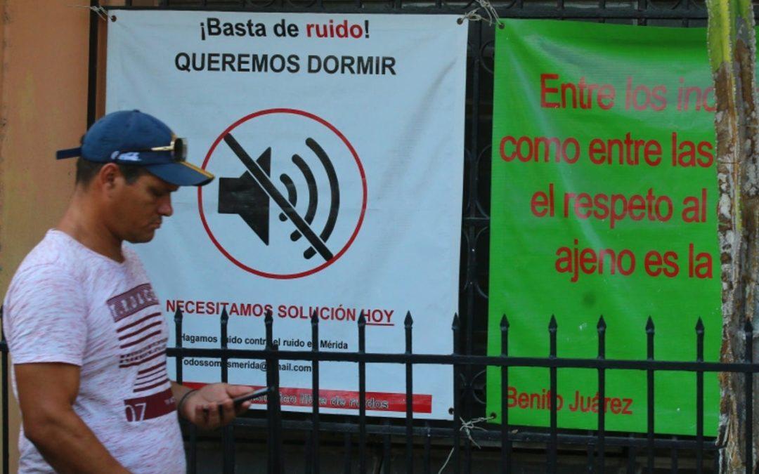 Mérida, ciudad blanca… y ¿ruidosa?