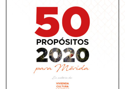 50 Propósitos 2020 para Mérida