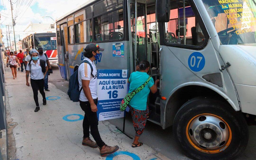 Movilidad y Transporte público en Mérida