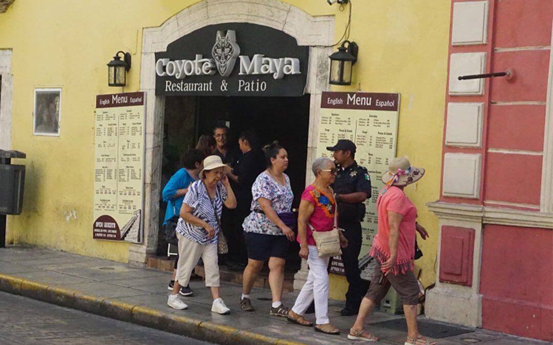 Entre locales y extranjeros, un panorama actual del Centro Histórico de Mérida